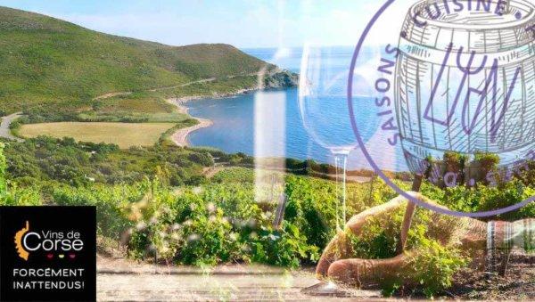 soirée vins du monde au restaurant l'Inattendu / la Corse